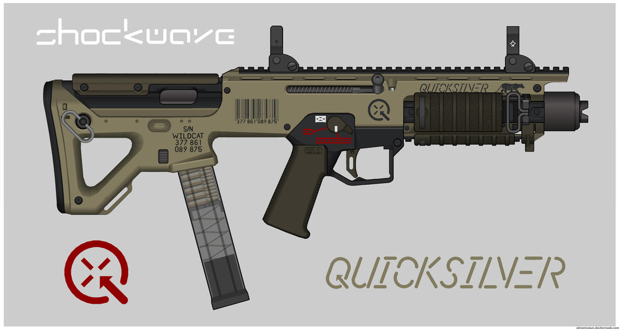 Quicksilver Industries: 'Wildcat' SMG by Shockwave9001