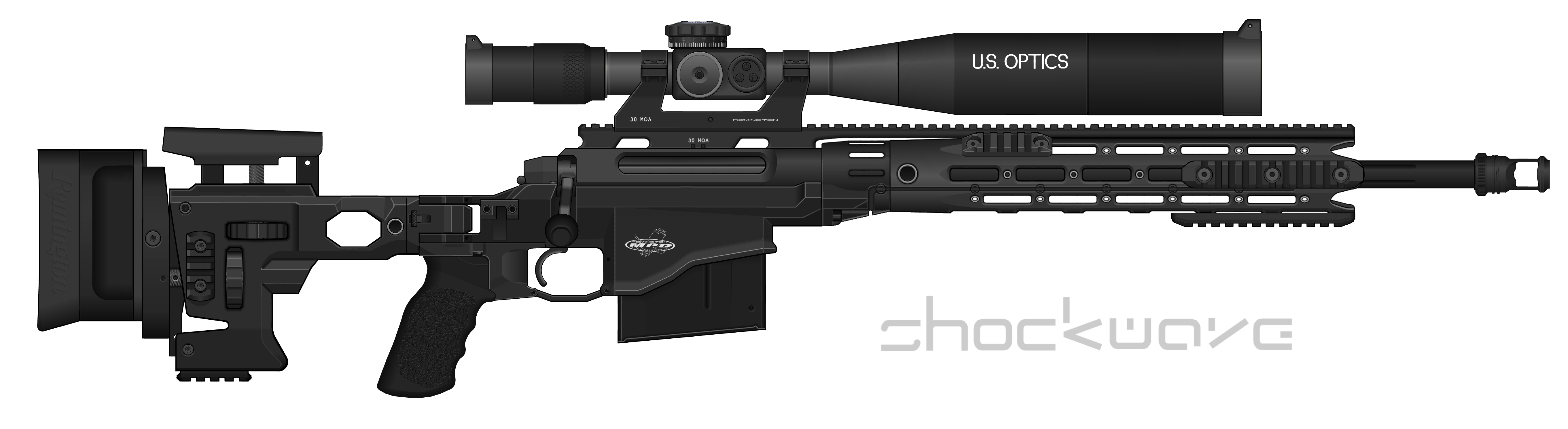 Remington MSR (Modular Sniper Rifle) by Shockwave9001 on ...
