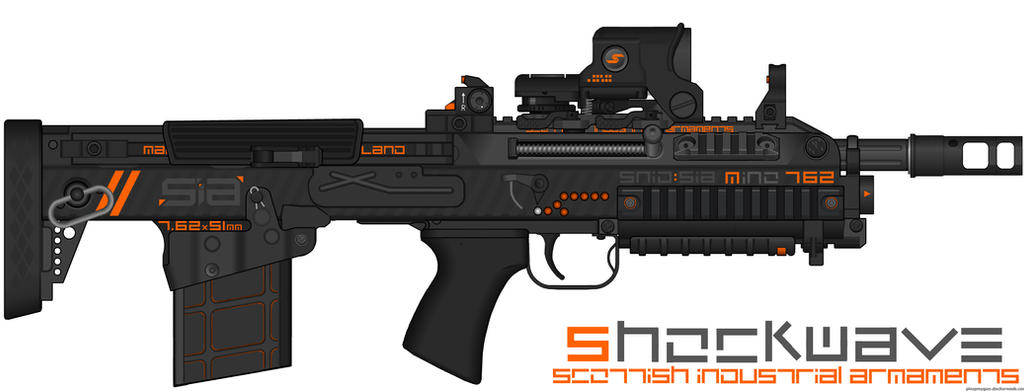 Scottish Industrial Armaments - Neon Line - Minota by Shockwave9001