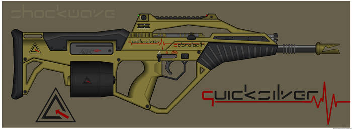 Quicksilver Industries: 'Sabretooth' Assault Rifle