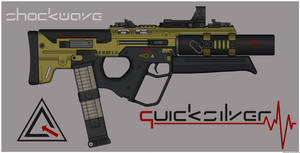 Quicksilver Industries: 'Margay' PDW by Shockwave9001