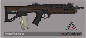 Quicksilver Industries: 'Sunda' Assault Rifle