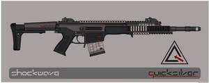 Quicksilver Industries: 'Javan' Precision Rifle by Shockwave9001