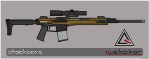 Quicksilver Industries: 'Caspian' Precision Rifle