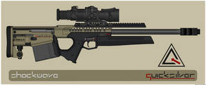 Quicksilver Industries: 'Andean' Sniper Rifle