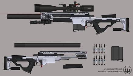 'Snow Owl' Stealth Sniper System