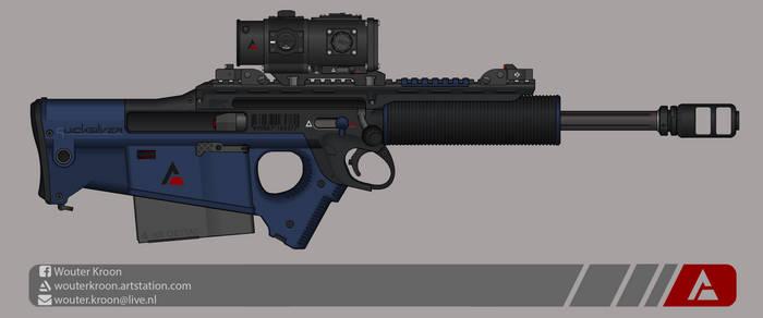 Quicksilver Industries: 'Wildebeest' Sniper Rifle