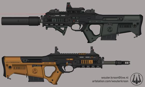 'Wildebeest' Mk.2 Battle Rifle