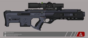 Quicksilver Industries: 'Aardwolf' DMR by Shockwave9001