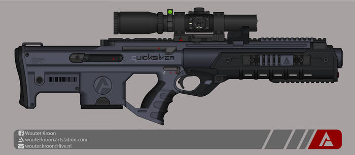 Quicksilver Industries: 'Aardwolf' DMR