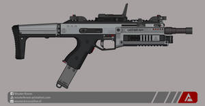 Quicksilver Industries: 'Nighthawk' SMG by Shockwave9001