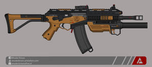 Quicksilver Industries: 'Hyena' Carbine by Shockwave9001