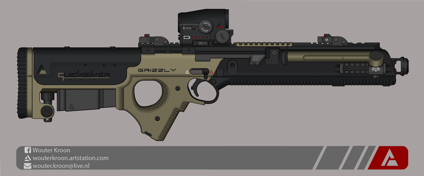 Quicksilver Industries: 'Grizzly' Sniper Rifle by Shockwave9001