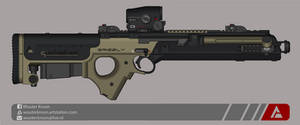 Quicksilver Industries: 'Grizzly' Sniper Rifle