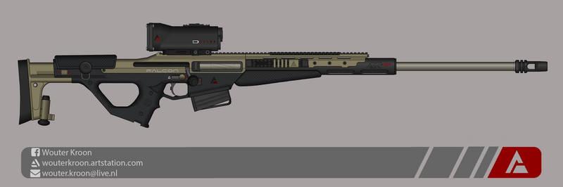 Quicksilver Industries: 'Falcon' Sniper Rifle