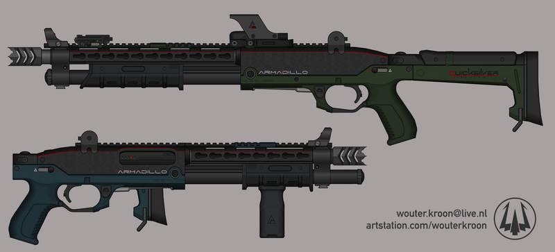 Quicksilver Industries: 'Armadillo' Shotgun