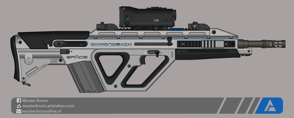 Quicksilver Industries: 'Diamondback' ABR by Shockwave9001