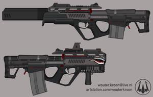 Quicksilver Industries: 'Tigershark' Auto Shotgun
