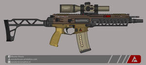 Quicksilver Industries: 'Tenrec' SBR by Shockwave9001
