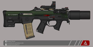 Quicksilver Industries: 'Badger' PDW by Shockwave9001