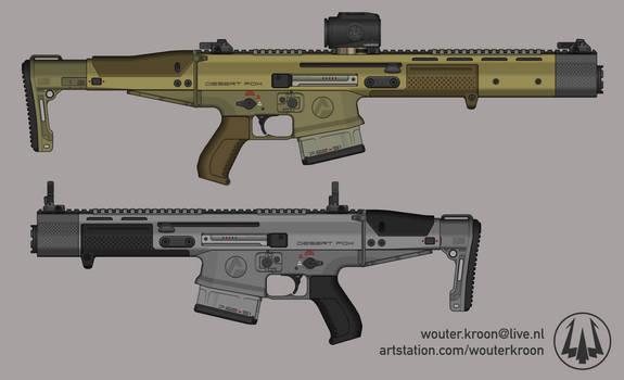 Quicksilver Industries: 'Desert Fox' Battle Rifle