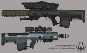Quicksilver Industries: 'Bullshark' Sniper Rifle