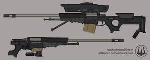 Quicksilver Industries: 'Swordfish' Sniper Rifle