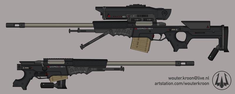 Quicksilver Industries: 'Swordfish' Sniper Rifle
