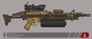 Quicksilver Industries: 'Foxhound' LMG