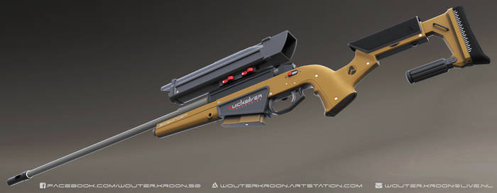 Sidewinder 3D Model
