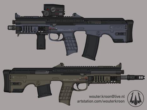 Quicksilver Industries: 'Beluga' Assault Rifle