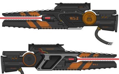 High Energy Laser Rifle