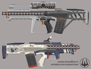 LMR-04 Linear Motor Rifle
