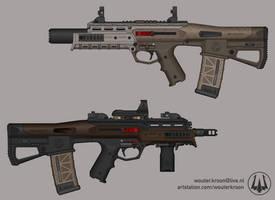 Sunda Mk. 2 Assault Rifle
