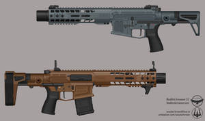BlackBird Armament - Sparrow Assault Rifle