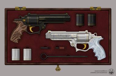 Helos and Derma - Luxury Revolver Set