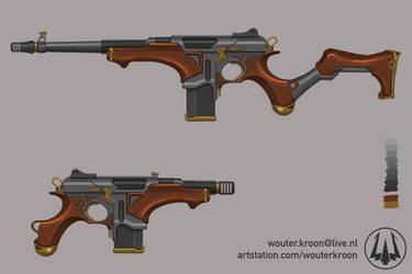 Steampunk Carbine
