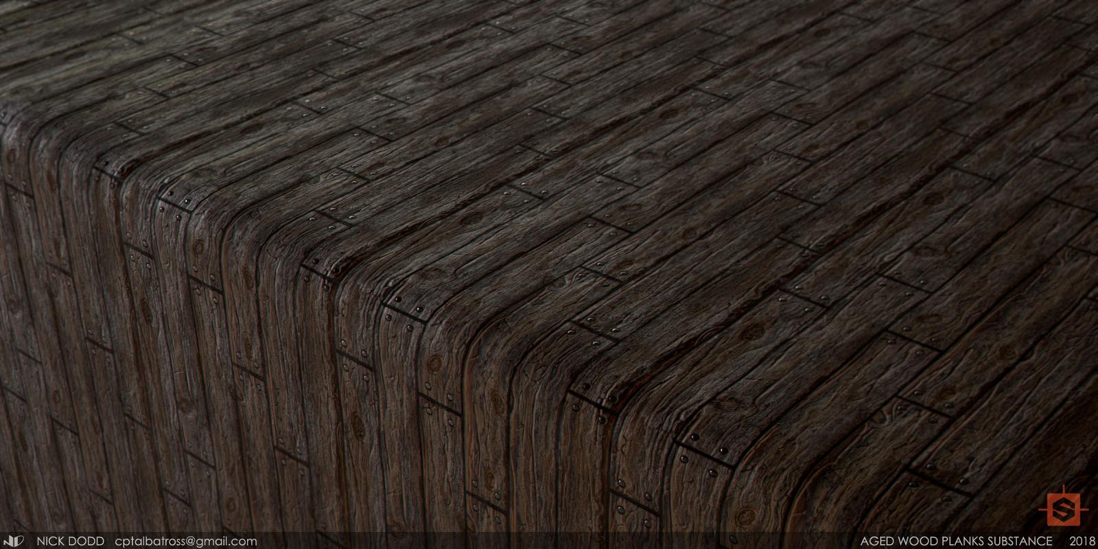 Aged Wooden Planks / Substance Designer by ReekoArk on DeviantArt