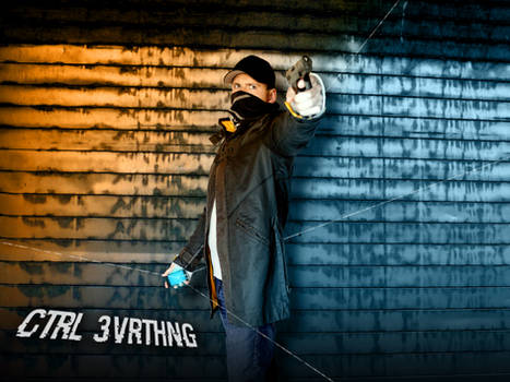 Aiden Pearce - Watch Dogs Cosplay