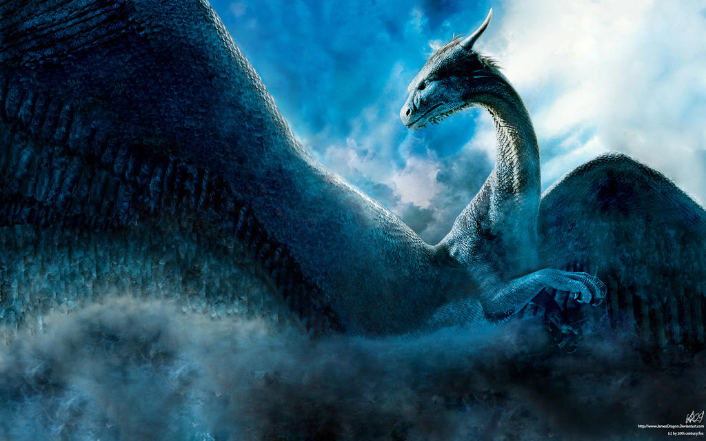 Saphira Wallpaper by TheKiromancer