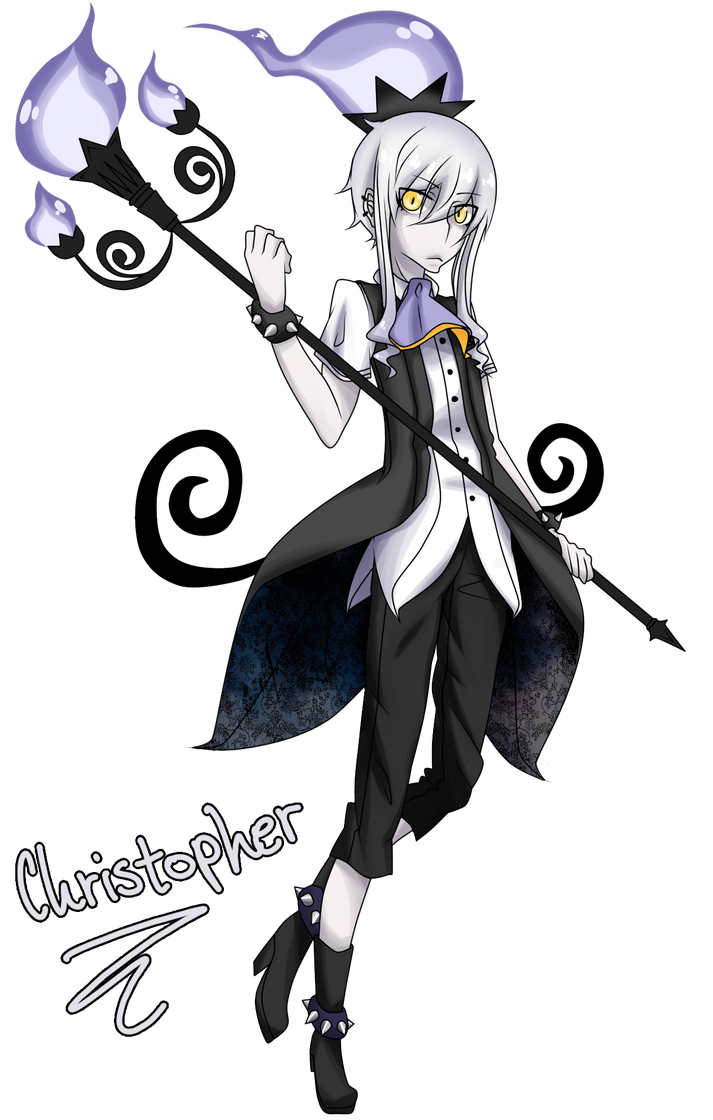 Chandelure Gijinka by xhikkux on DeviantArt
