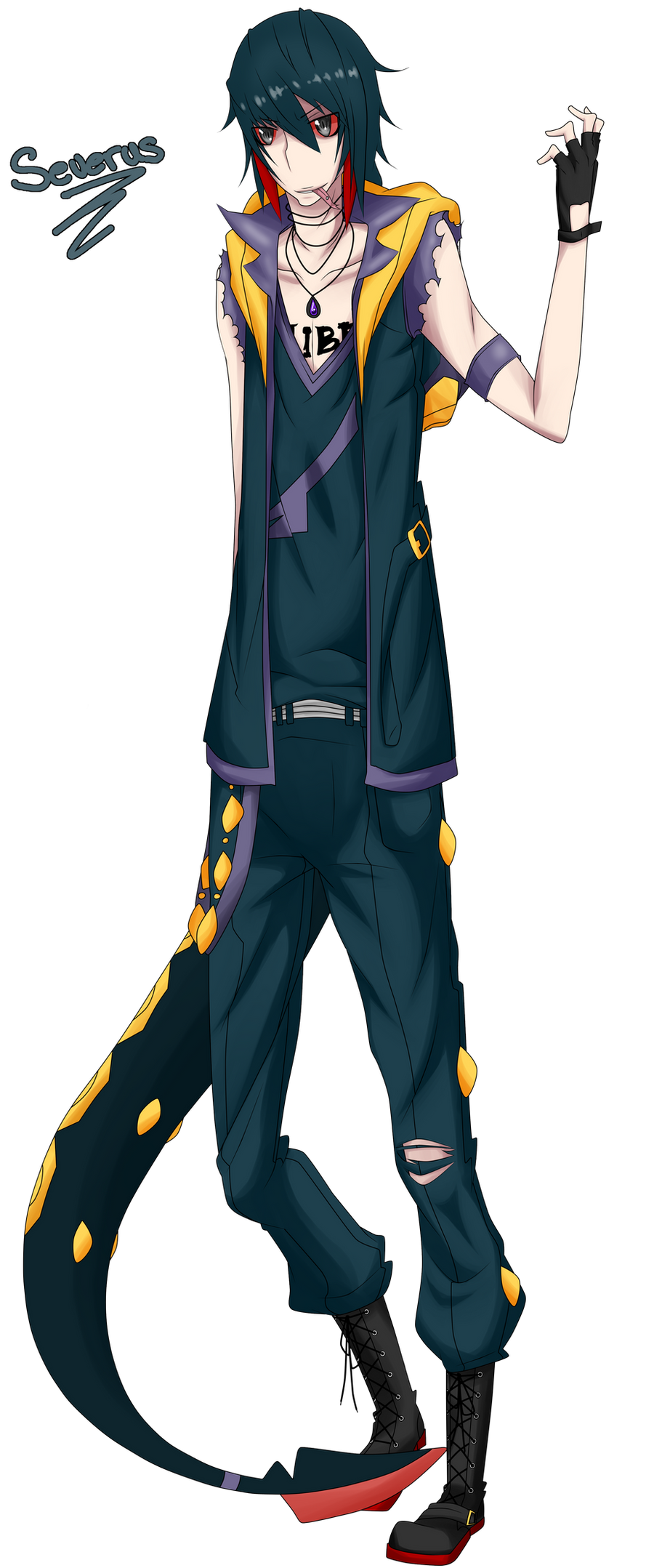 List of Synonyms and Antonyms of the Word: seviper gijinka