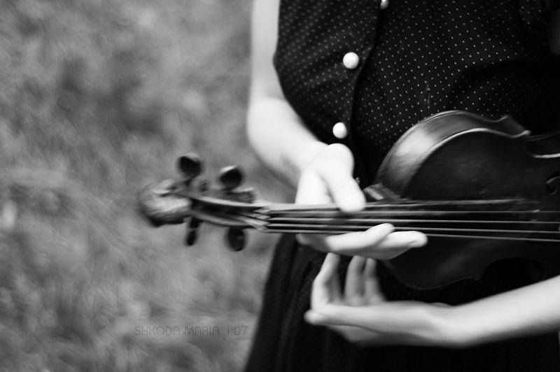 my violin by MotyPest