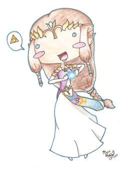 Princess Zelda Derp