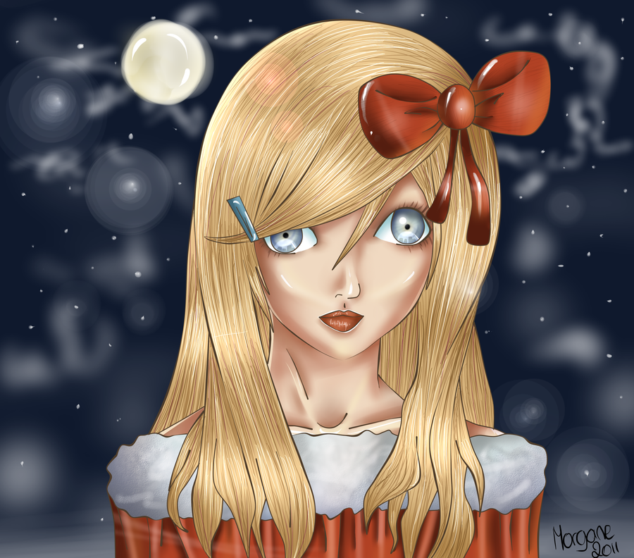 Dessin jeune fille de noel by mlldream on deviantart - Jeune fille dessin ...
