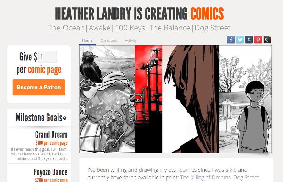 Sandpaperdaisy Patreon Homepage by sandpaperdaisy
