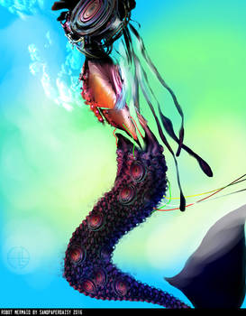 Robot Mermaid