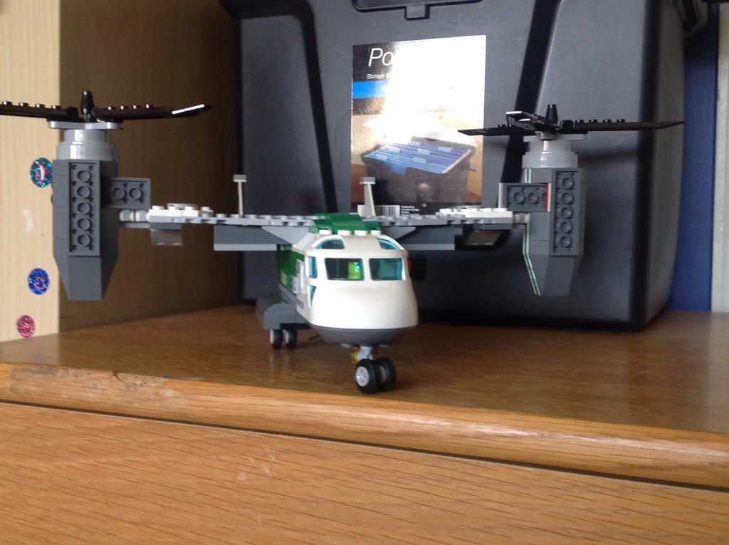 LEGO:Air Cargo On Landing Pad by Crimson-The-Hunter on ...