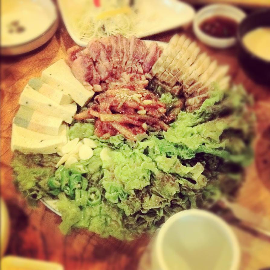 the KOREAN FOOD by Sun-Rays