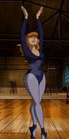 Daphne Blake is doing ballet
